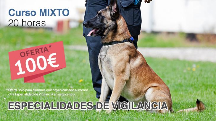 Cursos para vigilantes especialidad perros