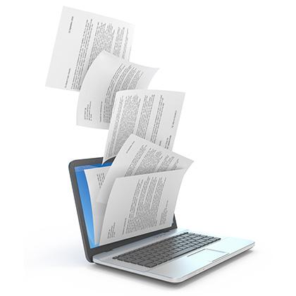 Operadores de grabación y tratamiento de datos y documentos